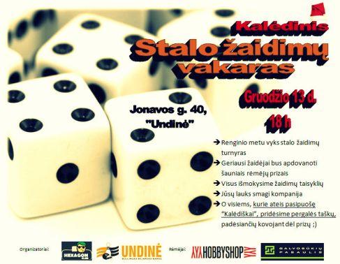 Stalo žaidimų turnyro plakatas487