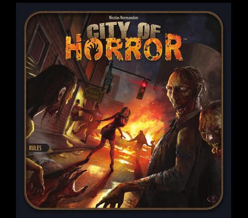 city of horror virselis