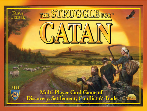 struggle for catan viršelis