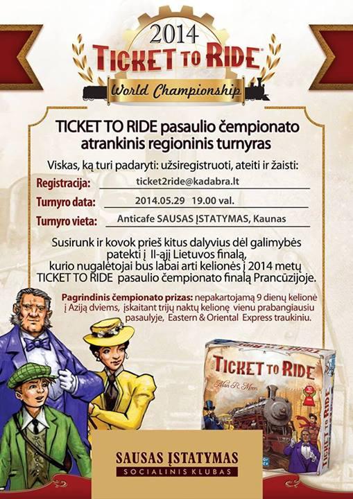 TicketToRideAtrankinis