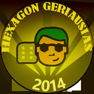 Hexagon geriausi 2014
